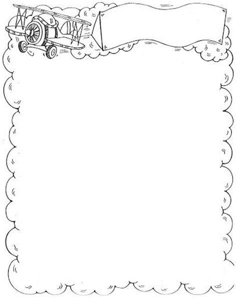 bordes de pagina colouring pages marcos y bordes infantiles para colorear dibujos para