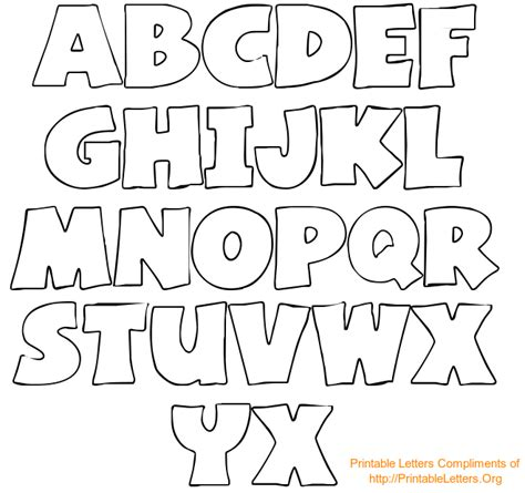 fancy alphabet letter templates free printable letter stencils theveliger