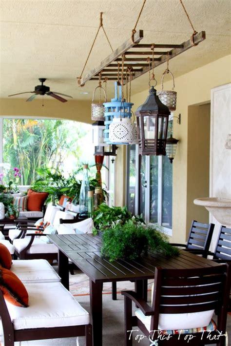 diy outdoor chandelier ideas     statement