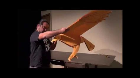 Origami Hawk - quot the hawk quot by origami artist robert j lang revealed for
