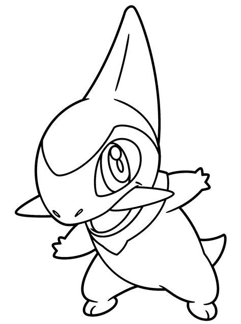 pokemon coloring pages amaura pokemon paradijs kleurplaat axew