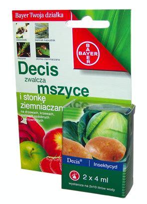 Bayer Decis 25 Ec decis 2 5 ec zwalcza mszyce 2x4ml bayer na bazarek pl