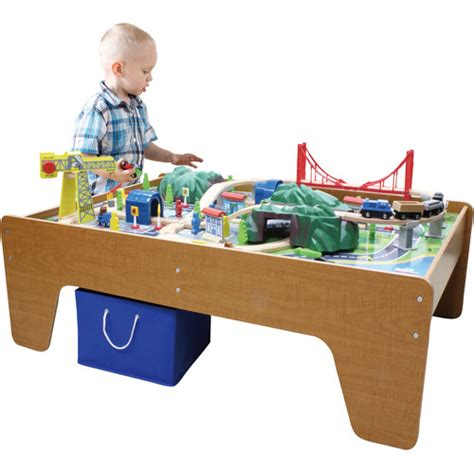 100 mountain set and wooden activity table - Activity Table Set