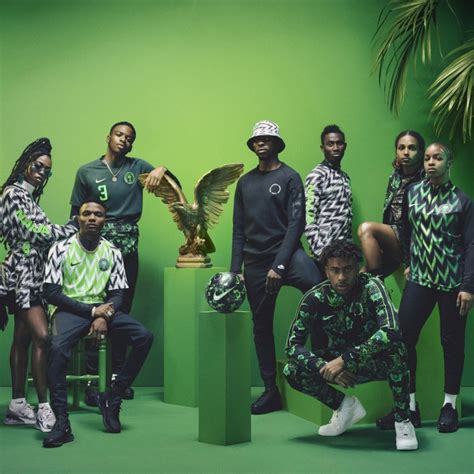 how nike turned nigeria s world cup kit into a fashion