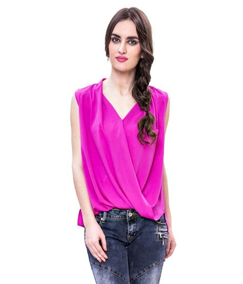 Envy Blouse by Buy Envy Wrap Blouse At Best Prices In India Snapdeal
