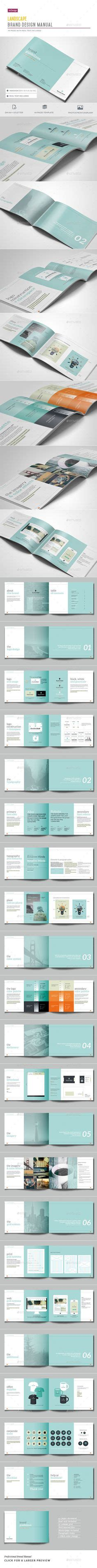 brochure layout guidelines cover page table of contents print layout design