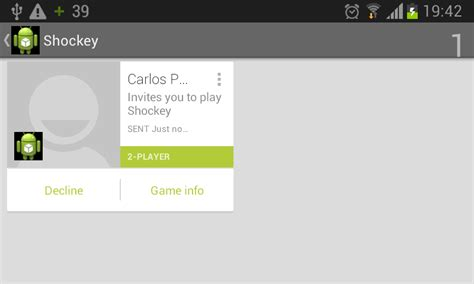 android can t play android play services can t accept invitations stack overflow