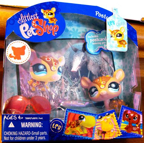 Armadillo Pet Pet Pet Product by Littlest Pet Shop Post Card Pet Armadillo Lps