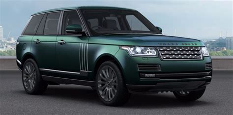 british range rover range rover autobiography svr british racing green cars
