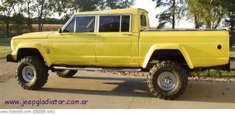 jeep gladiator 4 door 1974 4 door jeep gladiator pick up originally posted by