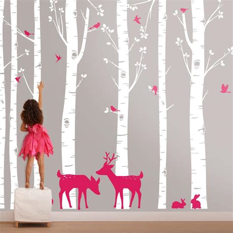 Decor Foret Enchantee by Stickers D 233 Cor For 234 T Enchant 233 E My Sweet