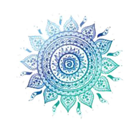 mandala transparent