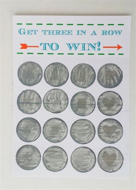 Diy Scratch Cards Template by Scratch Cards Make Your Own