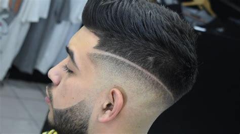 cortes de cabello caballero 2016 desvanecido de barba y corte con l 237 nea haircut 2018
