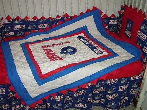 Ny Giants Crib Bedding Crib Nursery Bedding Set Made W New York Giants Prairie Points Ny Nursery Bedding York And