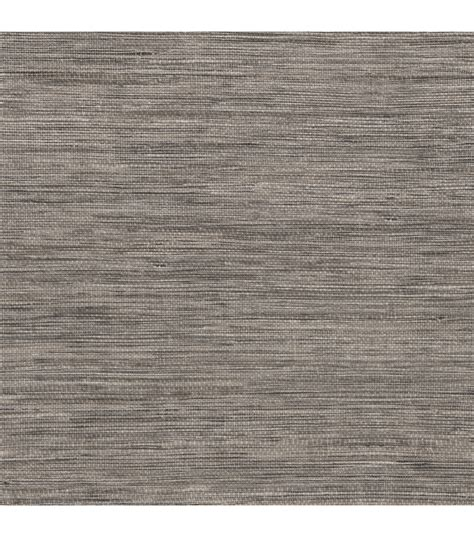 tapis grey faux grasscloth wallpaper jo