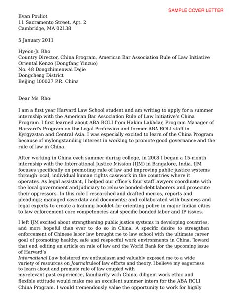 Sle Cover Letter Youth cover letter for college internship sle 28 images sle