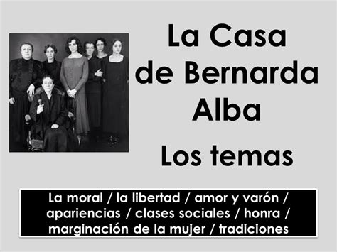 la casa de bernarda 2806289475 a level spanish la casa de bernarda alba los temas by miriam 84 teaching resources tes