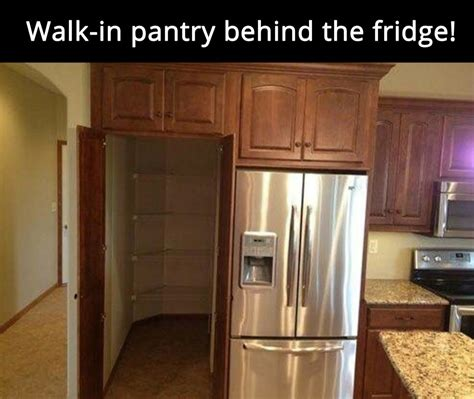 great parallel kitchen design with walk in pantry at the walk in pantry i wish i was living like this now