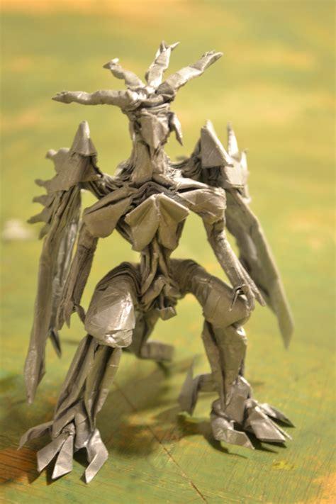 Bahamut Origami - origami bahamut by timsorigami on deviantart