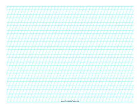 printable isometric paper landscape printable script practice paper landscape