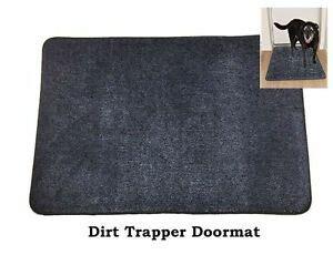 Dirt Trapper Doormat by Cotton Dirt Trapper Washable Doormat Door Mat In Blue