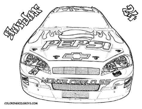 nascar coloring pages coloring pages cars nascar