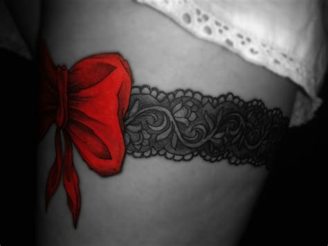 garter tattoo best 25 lace garter tattoos ideas on back
