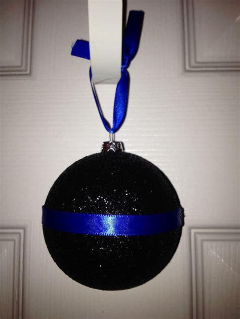 police ornament ornaments pinterest trees swarovski