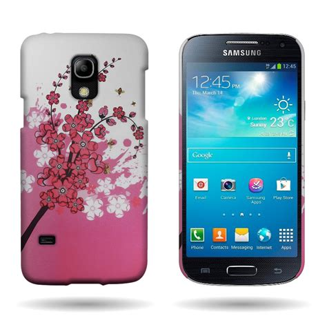 Casing Hp Samsung C5 Colorful Flower Custom Hardcase for samsung galaxy s5 mini pink flower design slim back cover ebay