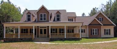 Low Country House Plans With Wrap Around Porch by Farmhouse Style Home Raleigh Two Story Custom Home Plan