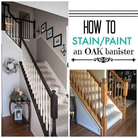 How To Paint A Stair Banister by Best 25 Banister Remodel Ideas On Staircase