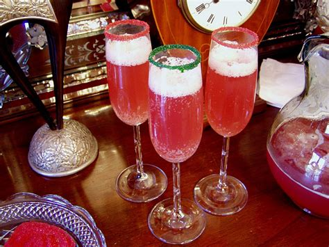chagne holiday punch recipe dishmaps