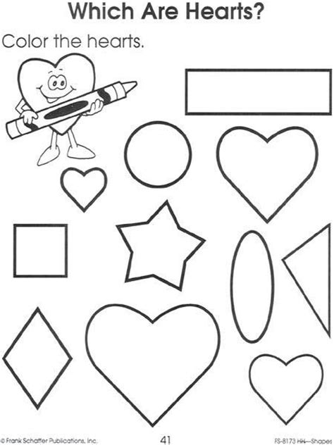 heart pattern worksheet crafts actvities and worksheets for preschool toddler and