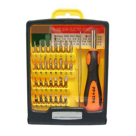 Gp611 Cr V 12 In 1 Screwdriver Repair Kit Obeng Set Rftool 30 in 1 precision screwdriver kit screwdriver set repair tools
