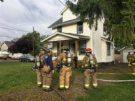 Canton House by Firefighters Extinguish Two Canton House Fires News