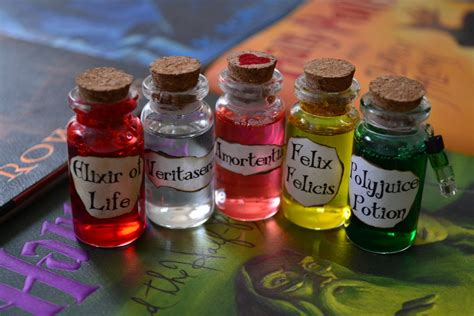 Custom Hp Collection custom hp potion set by wonderrabbit on deviantart