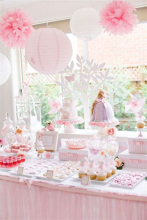 Baby Shower Table Setting party table decorating ideas how to make it pop
