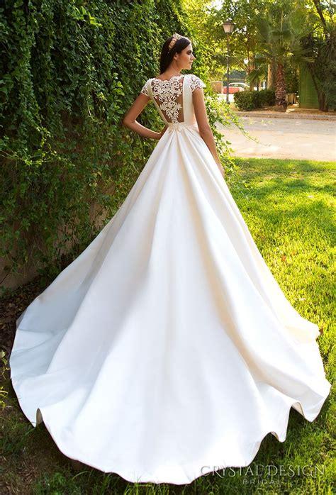 beautiful wedding dresses    crystal design