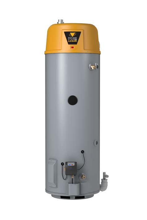 Water Heater Pakai Gas cyclone 174 he power vent