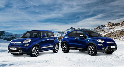 fiat 500x e 500l serie speciale winter edition newsauto it