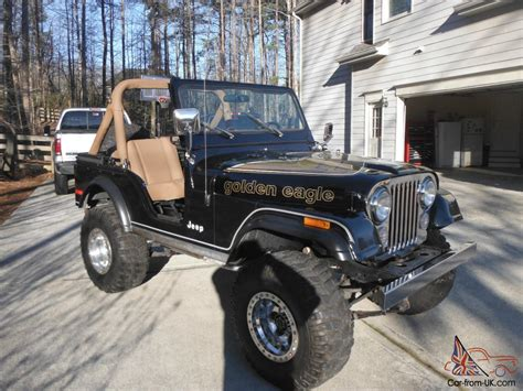 jeep eagle for sale 1979 jeep cj5 golden eagle sport utility 2 door 5 0l