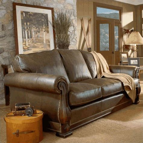 American Made Couches by American Made Leather Sofa Classic Leather Edwards 533