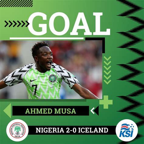 nigeria vs iceland 2 0 highlights