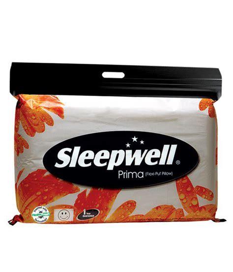 Buy Sleepwell Pillow by Sleepwell Sheer Prima Pillow Buy Sleepwell Sheer Prima