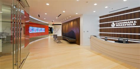 Cushman And Wakefield Finder Corporate Office Fit Out Project At Cushman Wakefield In Boston Ma