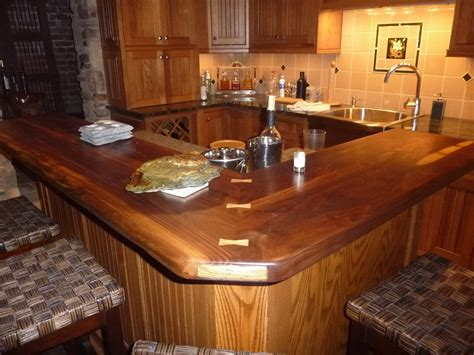 Wooden Kitchen Countertops Photosof Wood Countertops Decosee