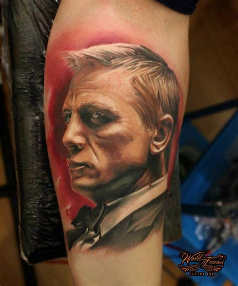 james tattoo daniel craig bond best design ideas