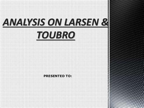 candlestick pattern of larsen and toubro larsen turbo finance analysis