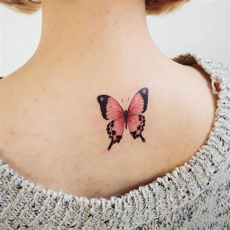 pretty butterfly tattoos pink butterfly by tattooist doy tatted tatto